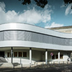 Prefa-Sidings Halle Operncafe © PREFA | Croce & Wir